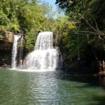 waterfall swimming thailand