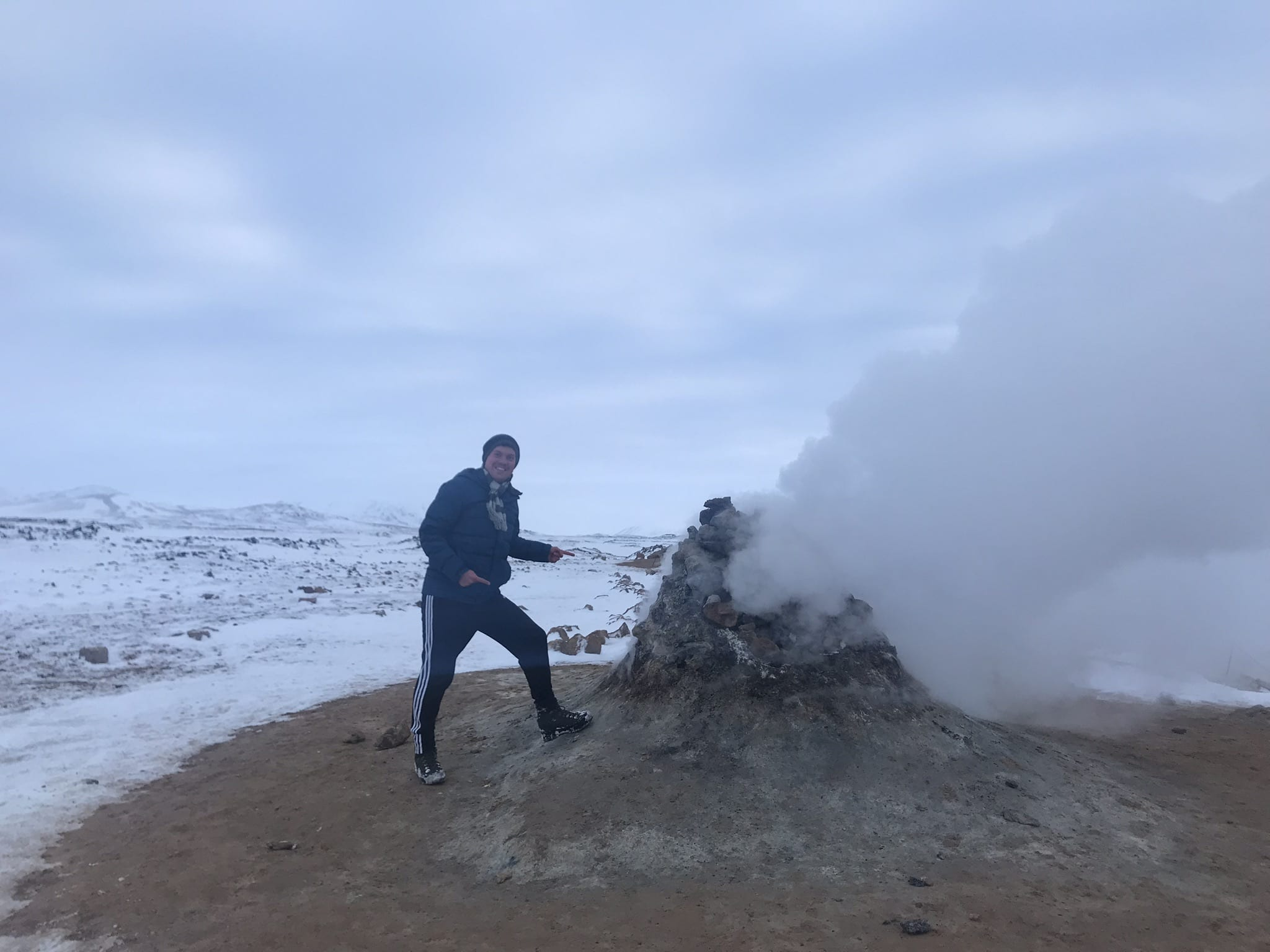 Expedition to a new world formed by fire and ice