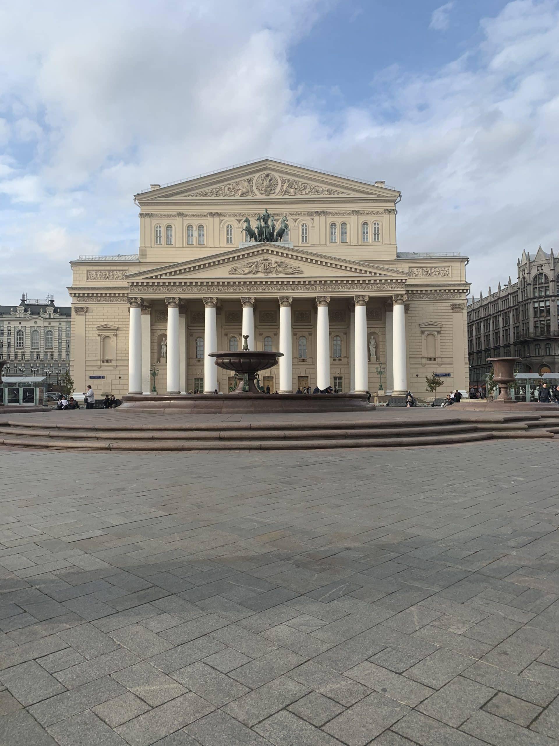 Ein Abend im Bolshoi Theater