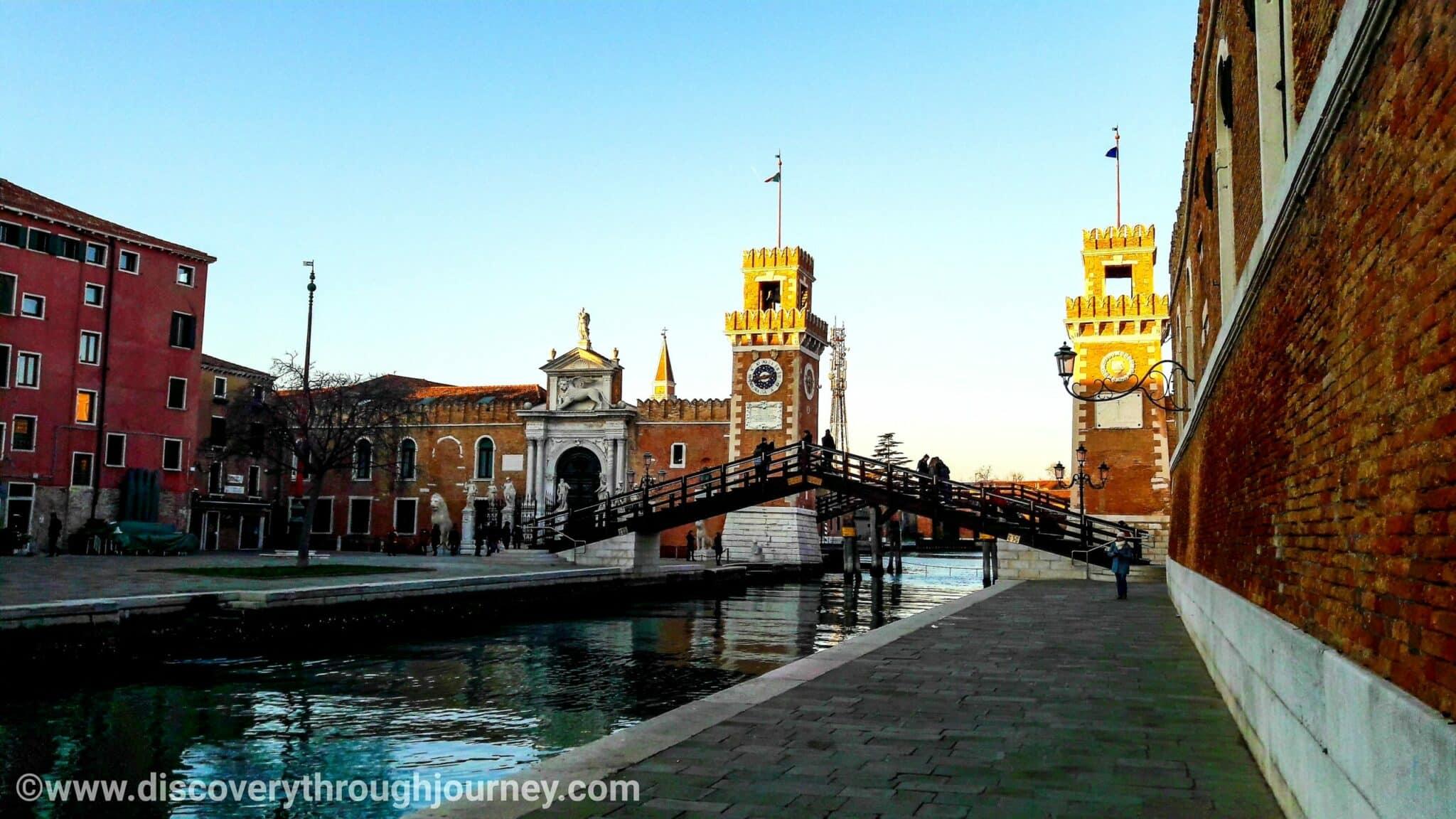 The Venetian Lagoon: Venice, Italy