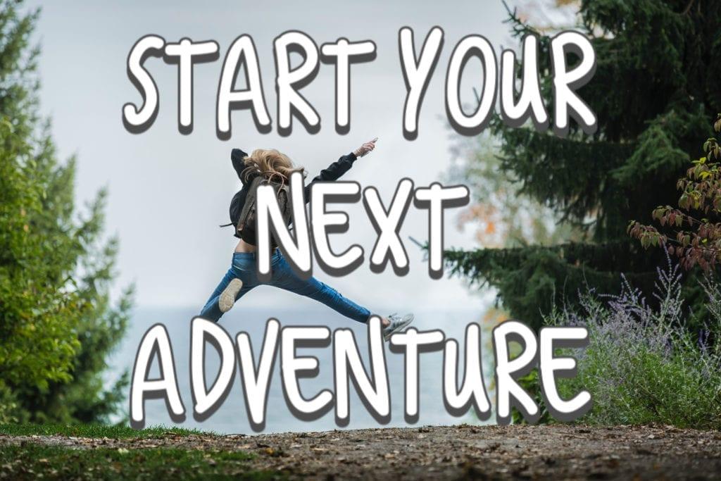 start adventure