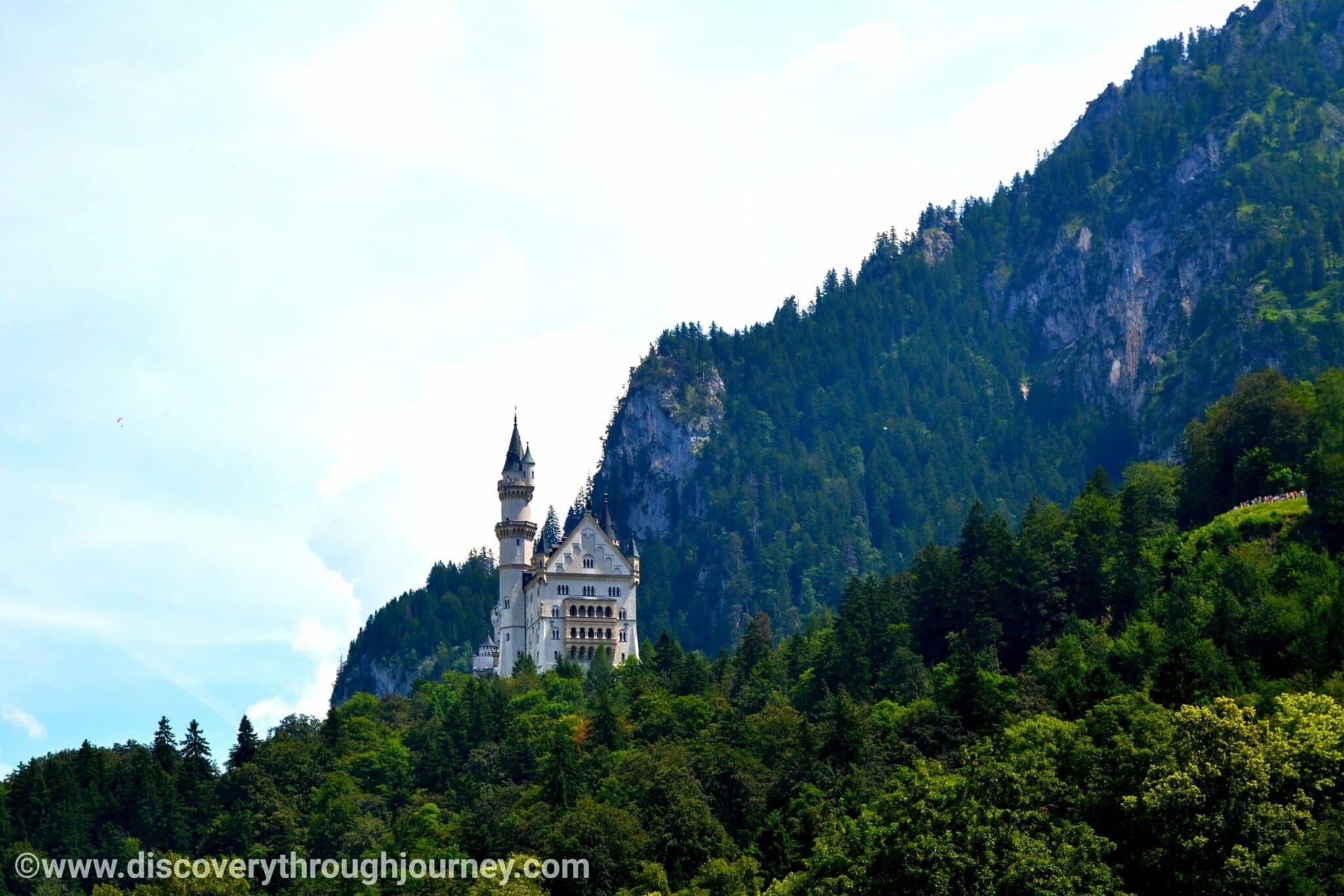 The fairy-tale castle: The Neuschwanstein Castle, Hohenschwangau, Germany