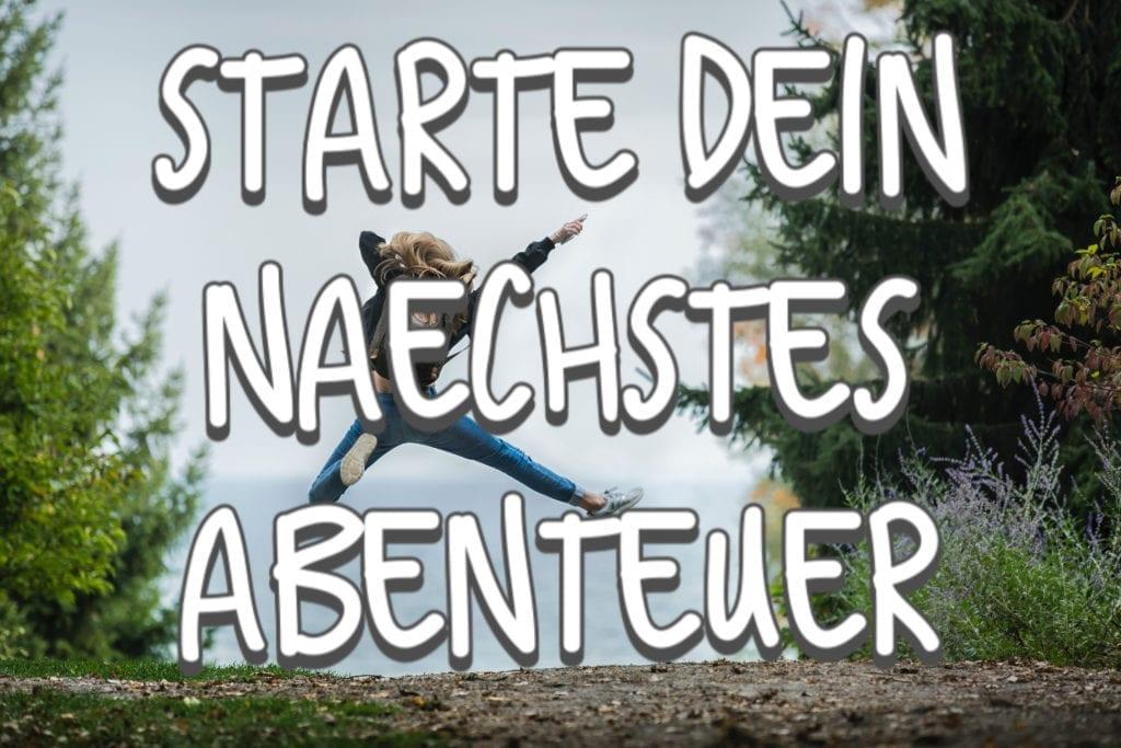 Starte dein nächstes Abenteuer