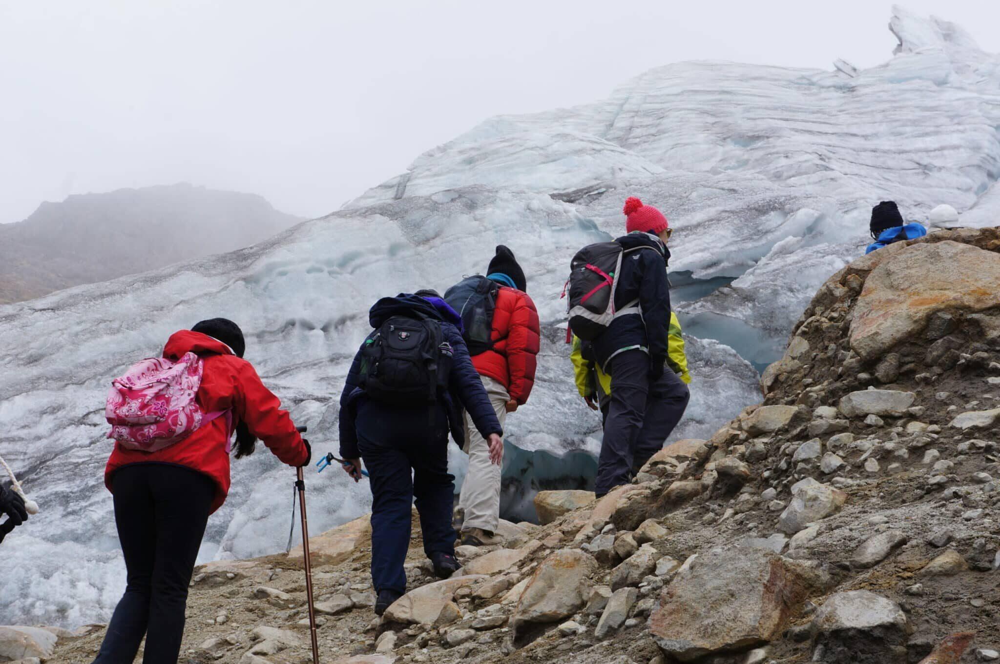 Cayambe Volcano and Its Beautiful Glacier