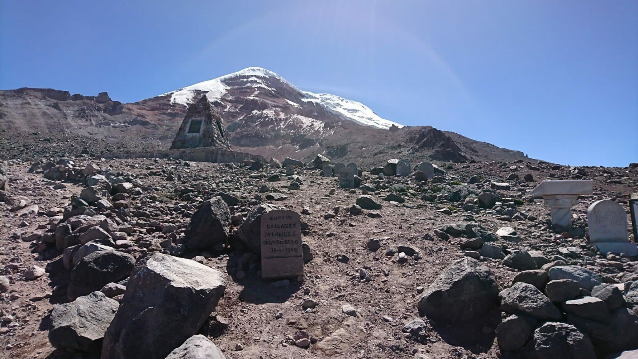 A colossus in Ecuador called the Chimborazo Volcano.