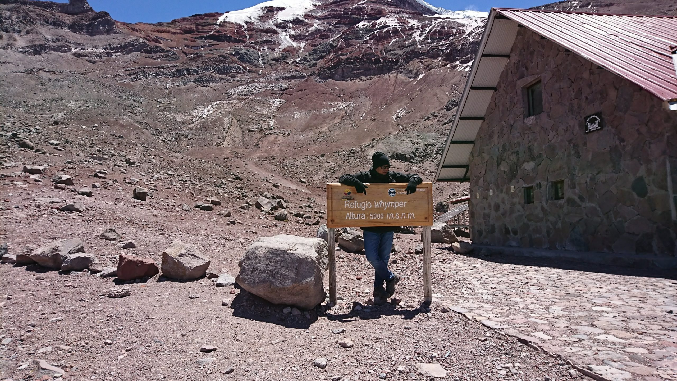 2nd Refuge. 5000 mts