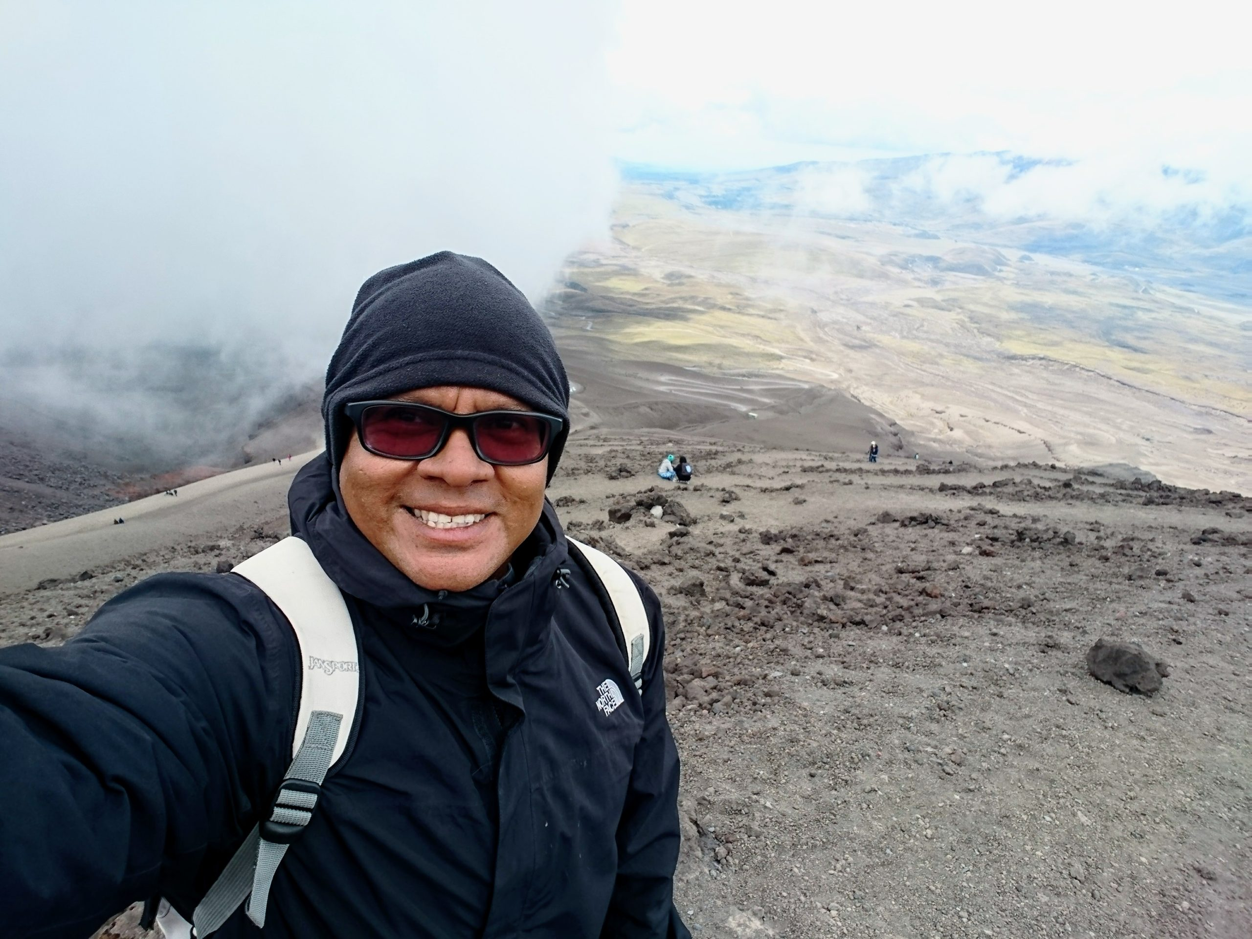 Cotopaxi Volcano… 5897 steps closer to the moon.