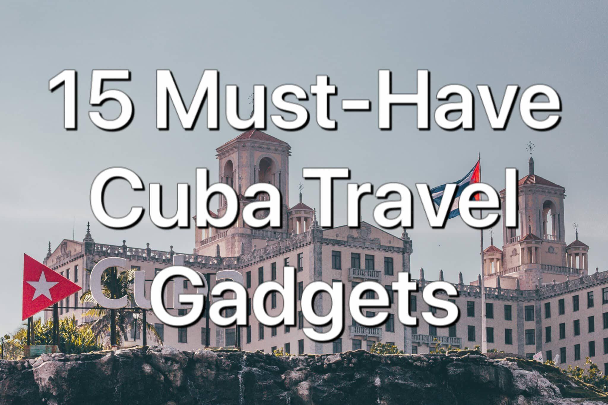 Cuba Packinglist Image
