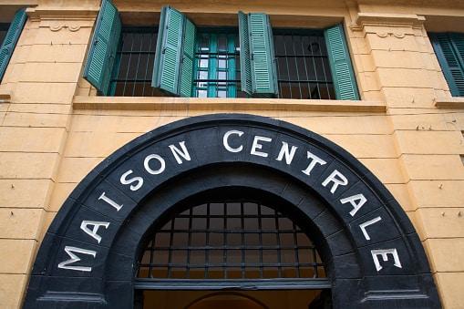 Hanoi Hilton Entrance Gate