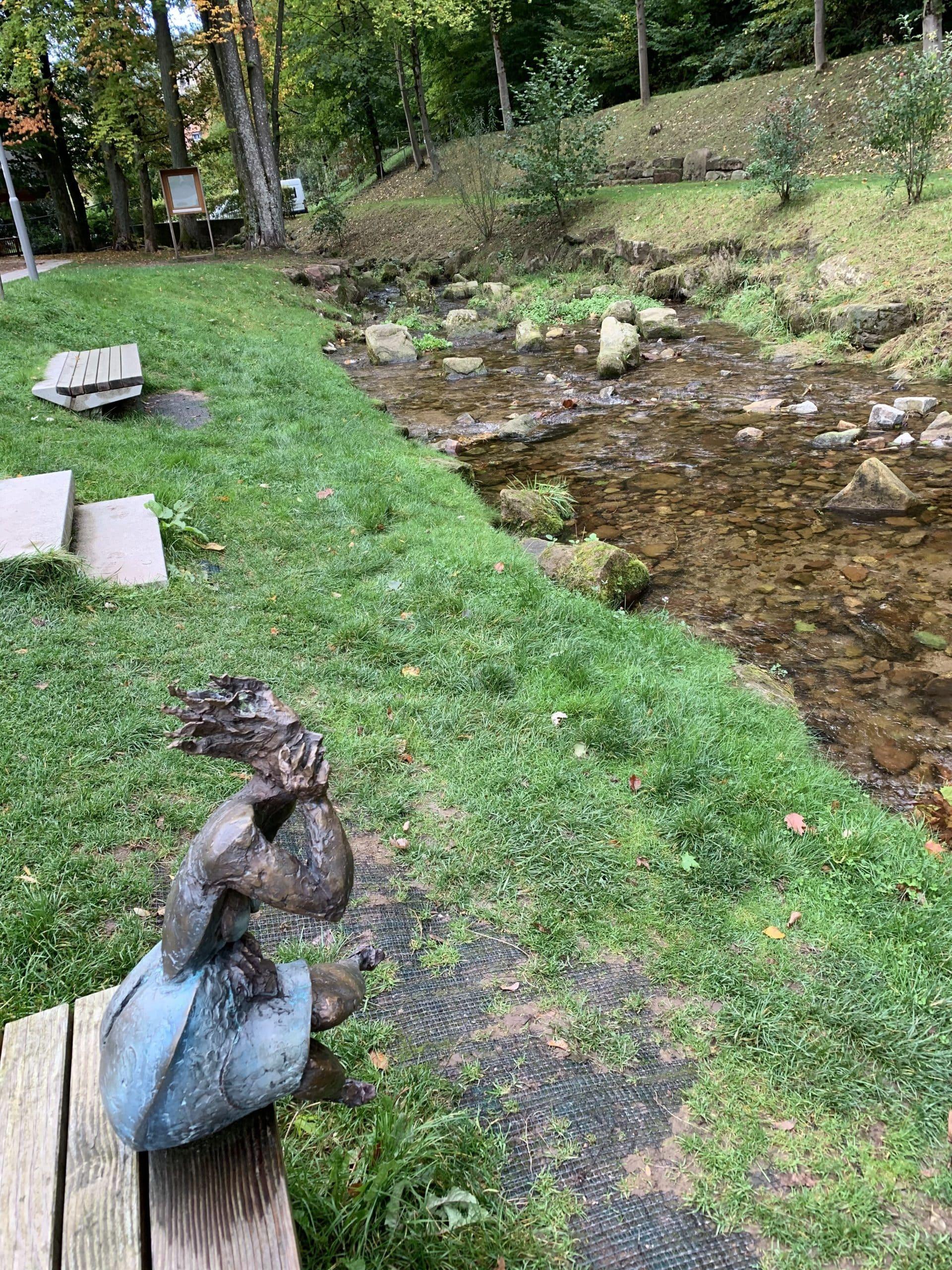 Bad Herrenalb eingebettet in unberührte Natur
