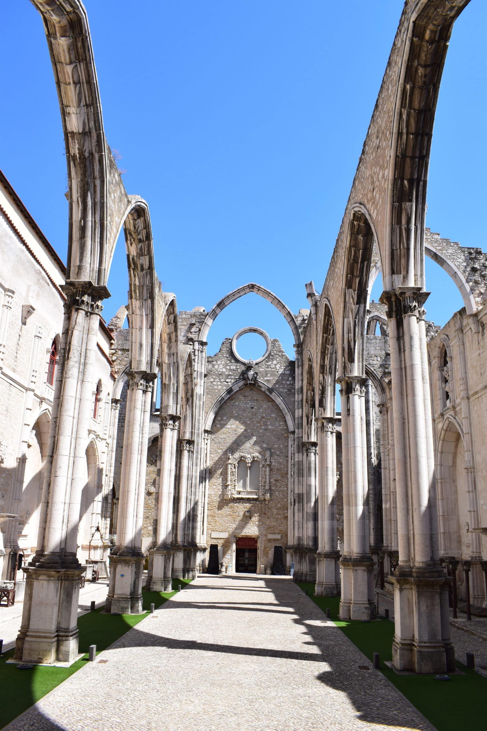 Carmo Church & Convent ruins 4
