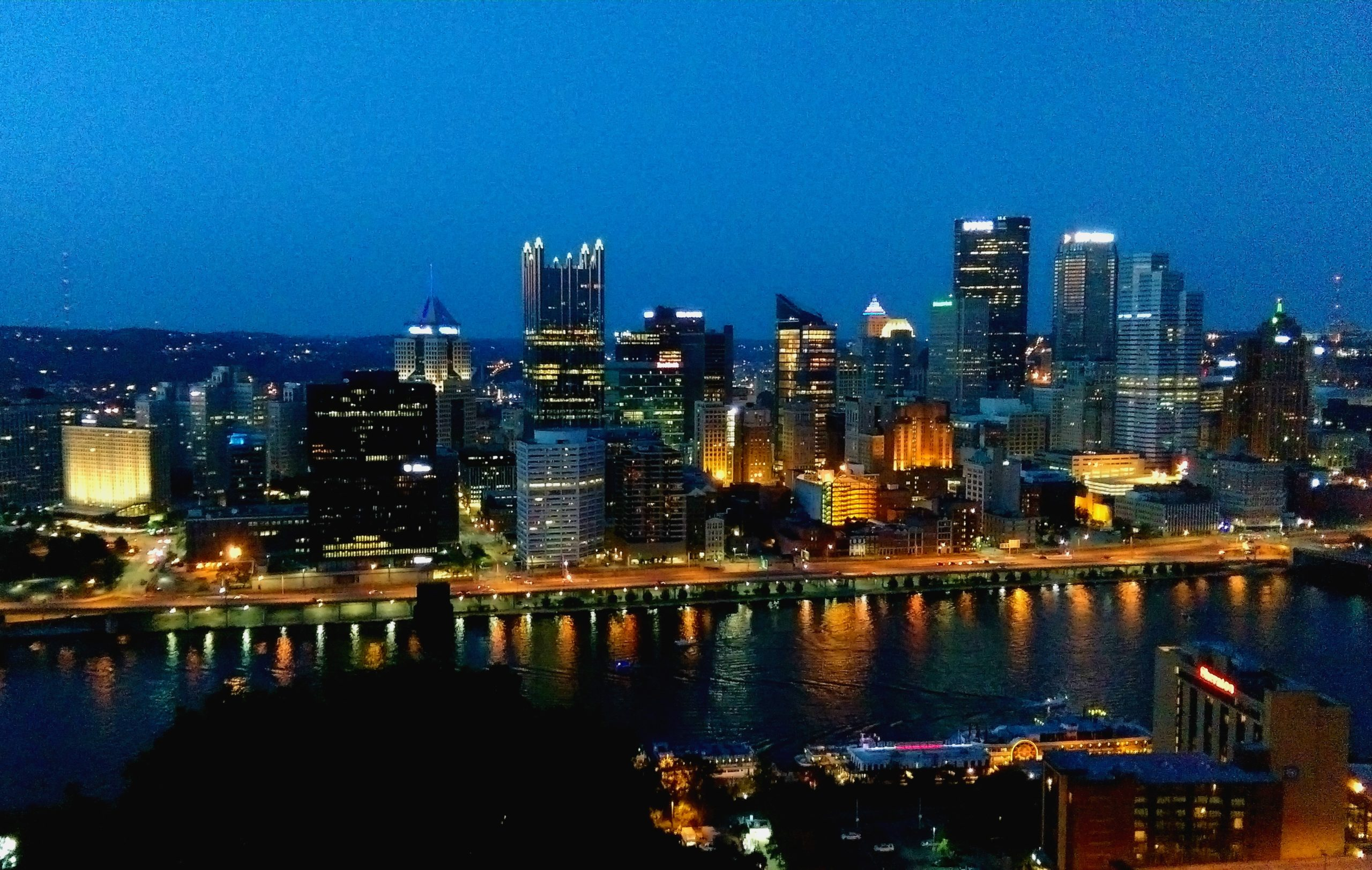 Living in Pittsburgh.