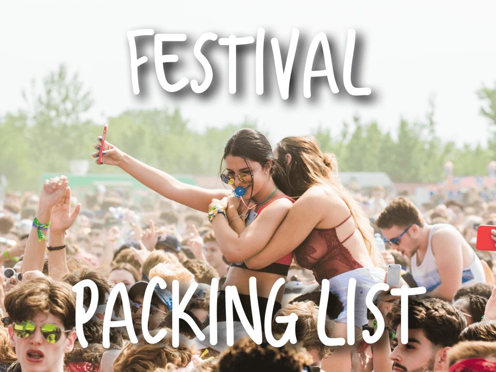 Festival-Packing-List