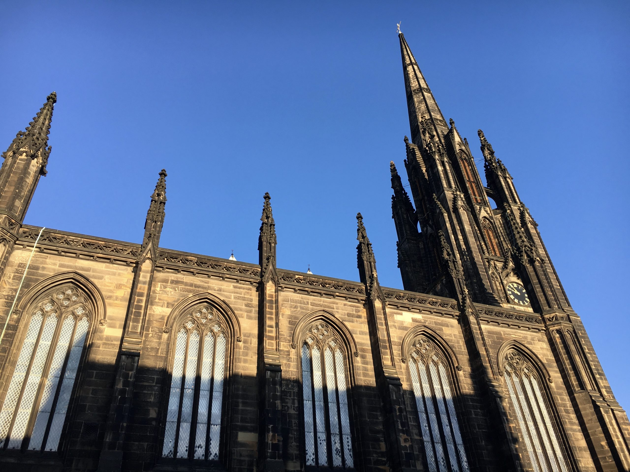 Magical Christmas time in Edinburgh