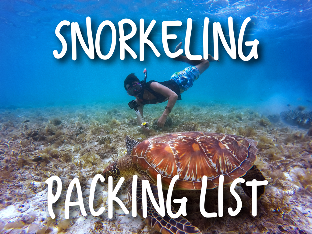 Snorkeling-Packing-List