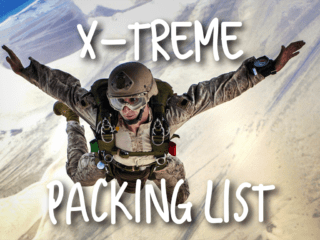 x-treme-packing-list