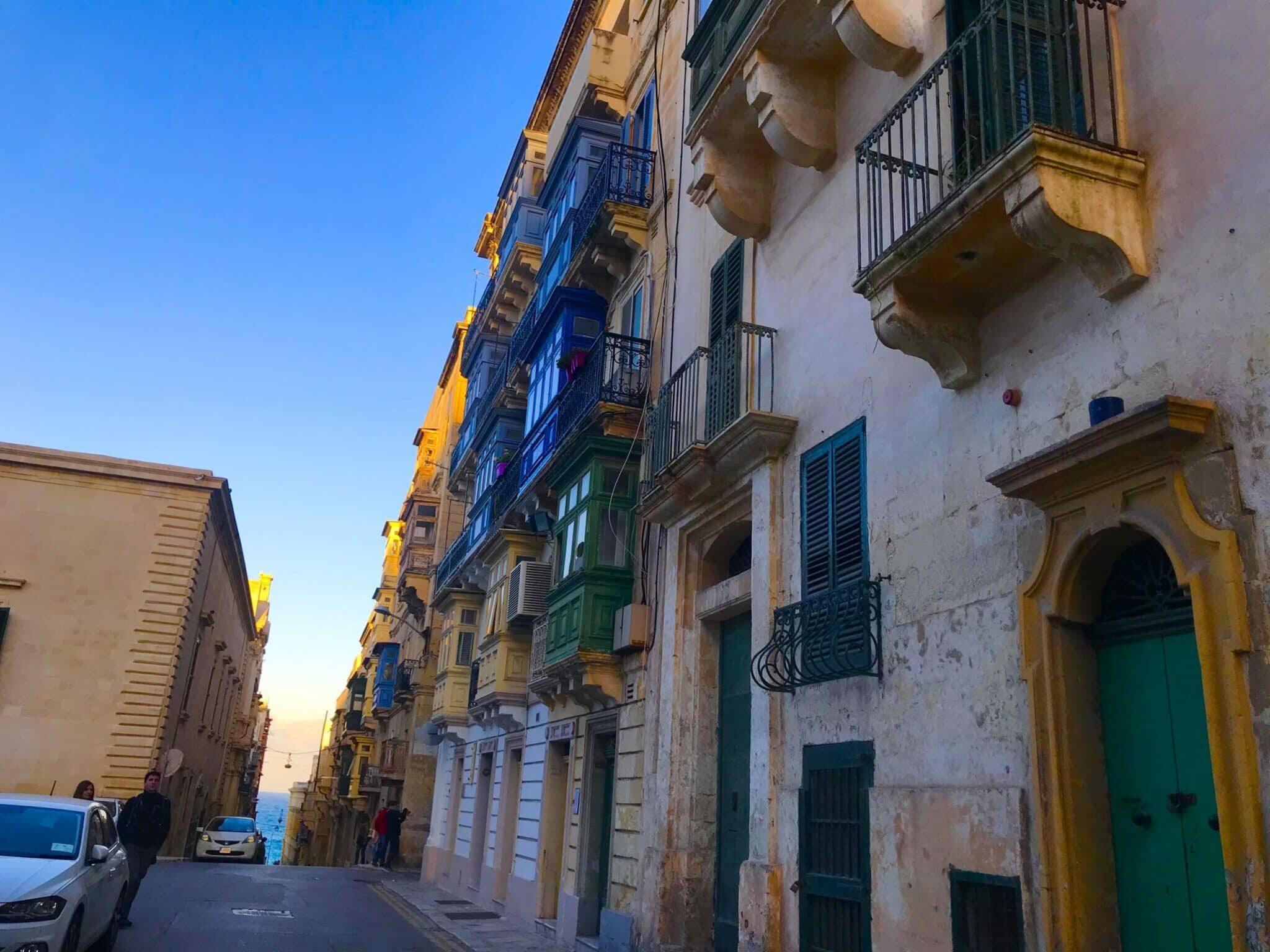 Valetta, Malta Travel January 2020