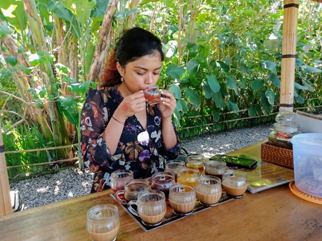 Tea taste test