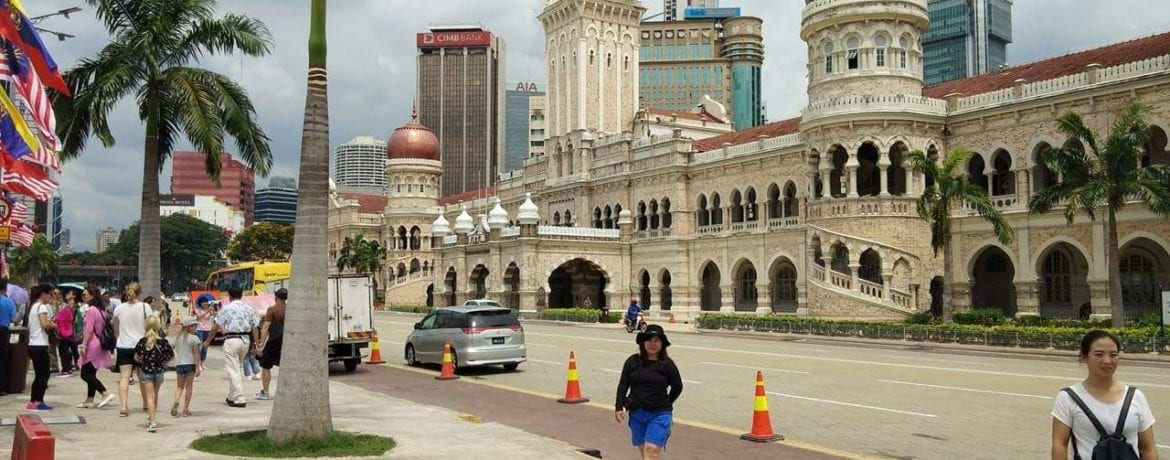 First Time Out Of The Cage – Kuala Lumpur