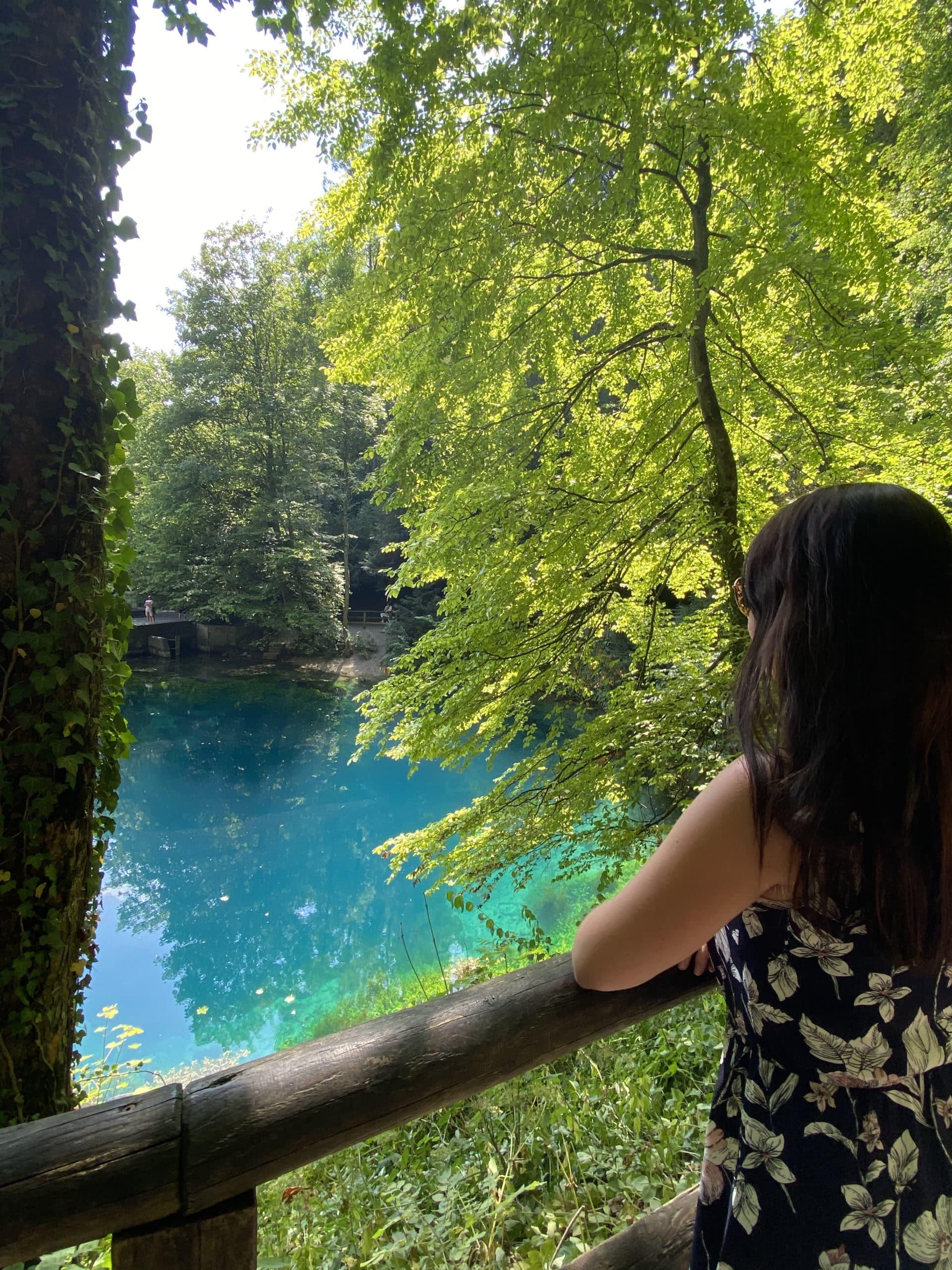 Blautopf in Blaubeuren – beauty in southern Germany