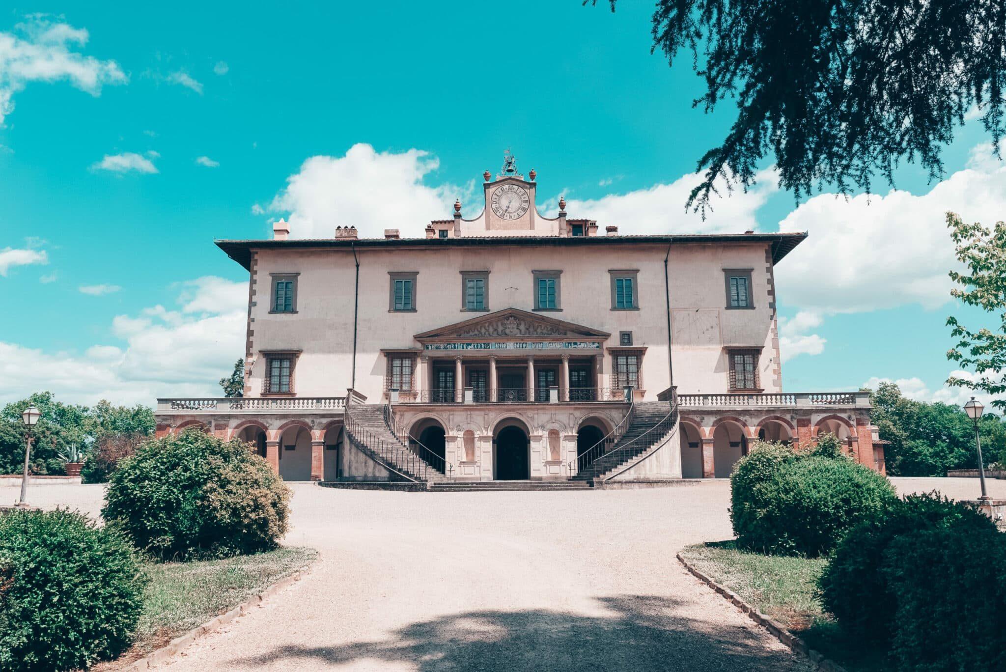 The most important Florentine Medici villas