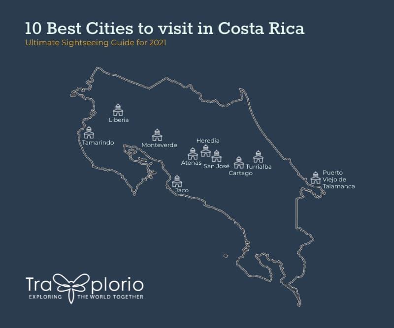 top 10 cities costa rica