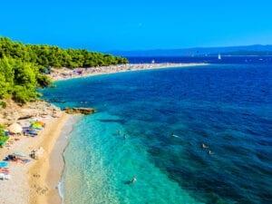zlatni rat beach brac island