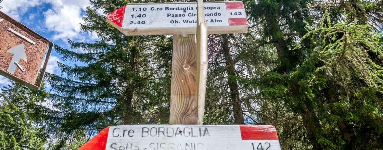 Con un trekking alla scoperta del lago di Bordaglia