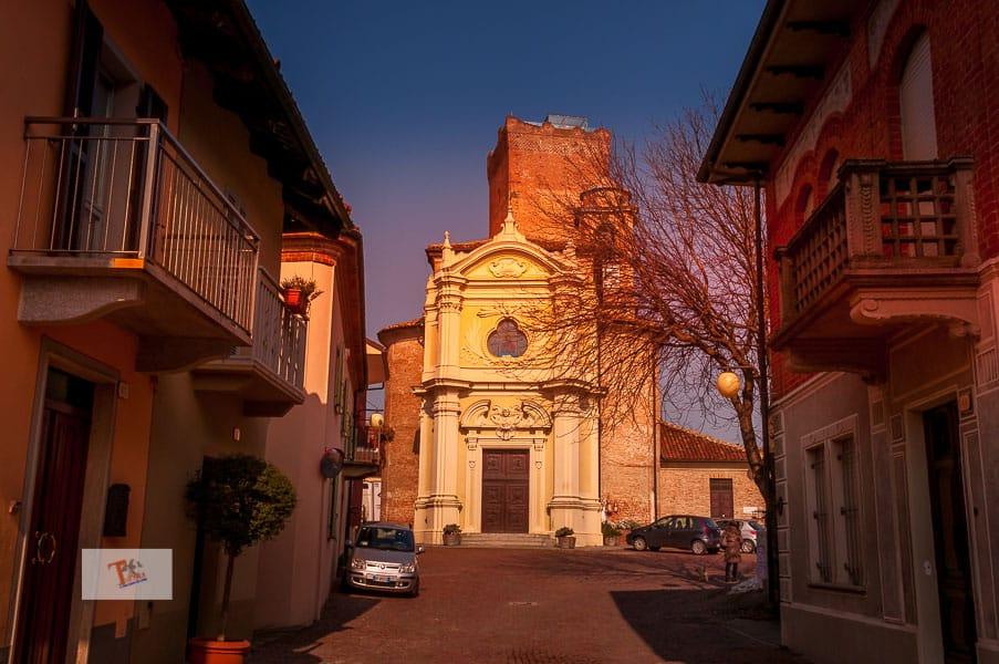 Barbaresco, church of San Giovanni Battista