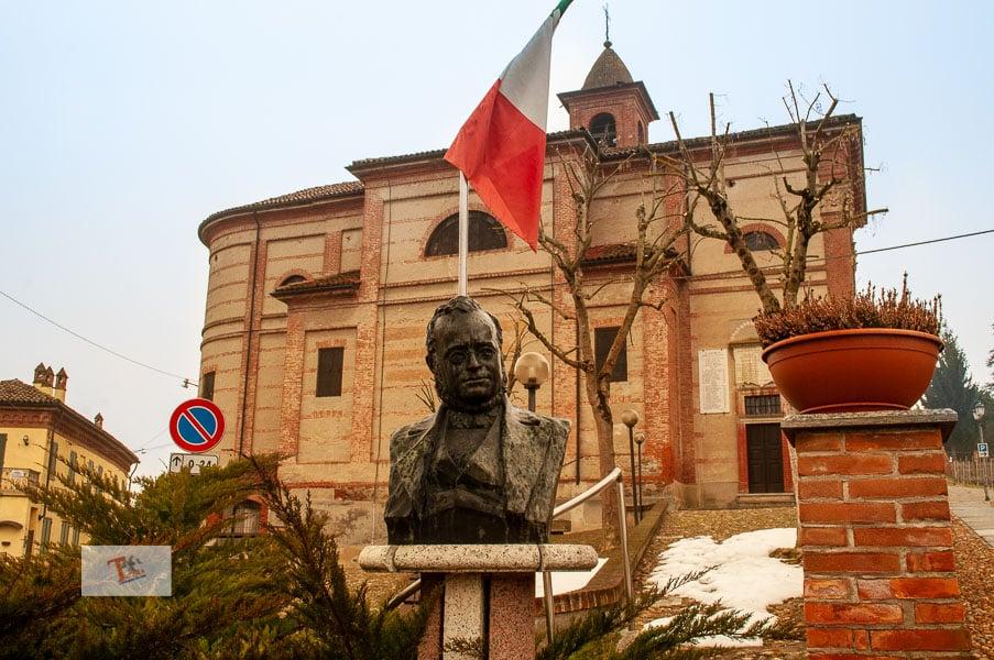 Nebbiolo tour, Grinzane Cavour, castle