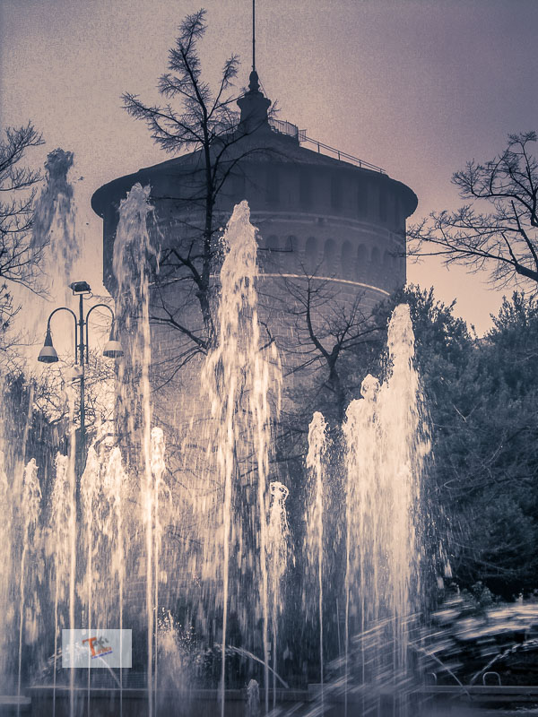 Milan and its legends, Circular tower of the Castello Sforzesco