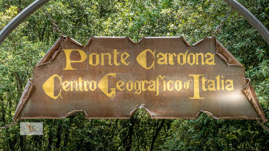 Narni, Ponte Cardona, beginning of the route