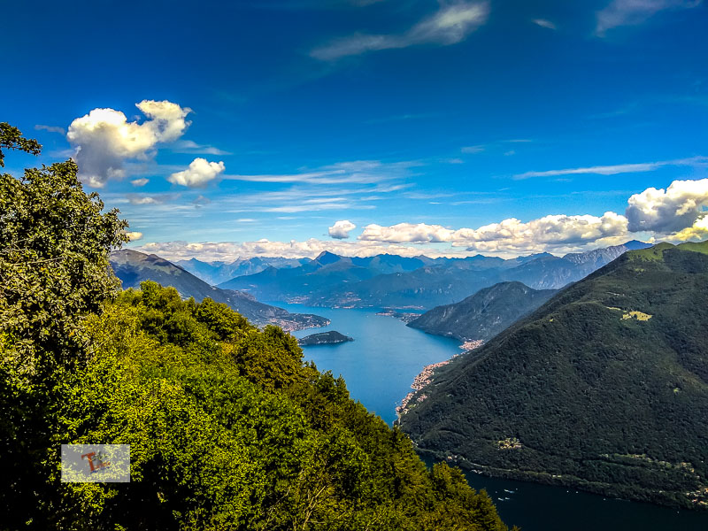 Path of Expressions, view of Lake Como