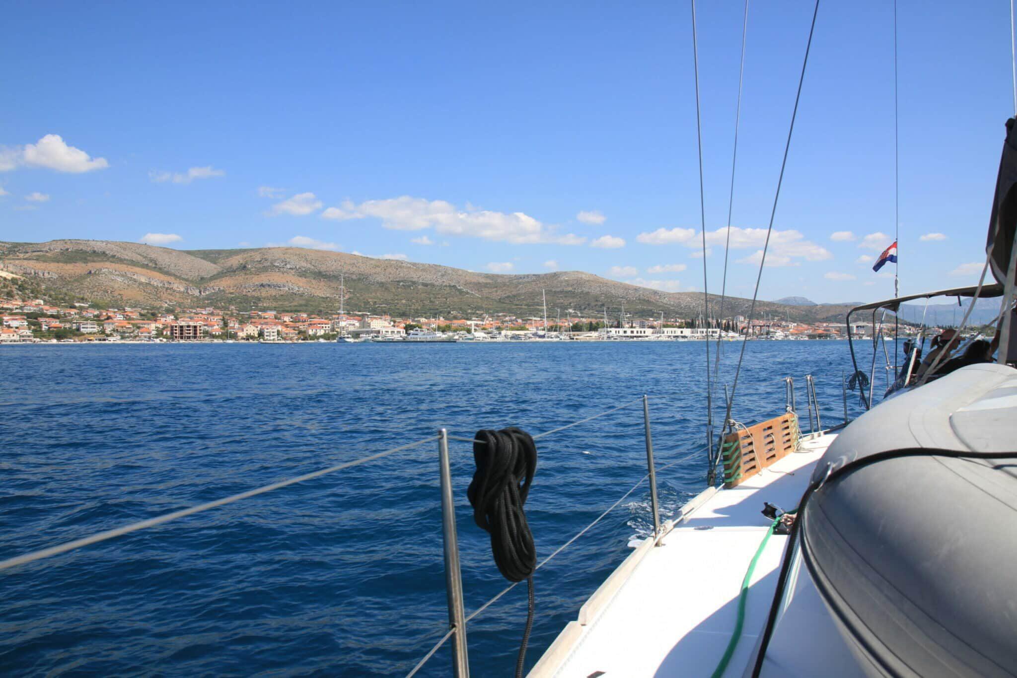 Wir stechen in die kroatische See