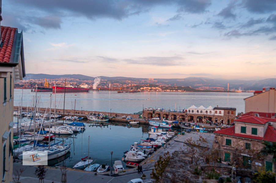 Muggia, the last strip of Italy