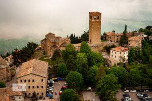 San Leo, between Montefeltro and Cagliostro