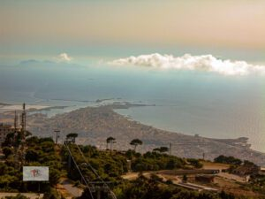 Erice, like touching the sky with a finger