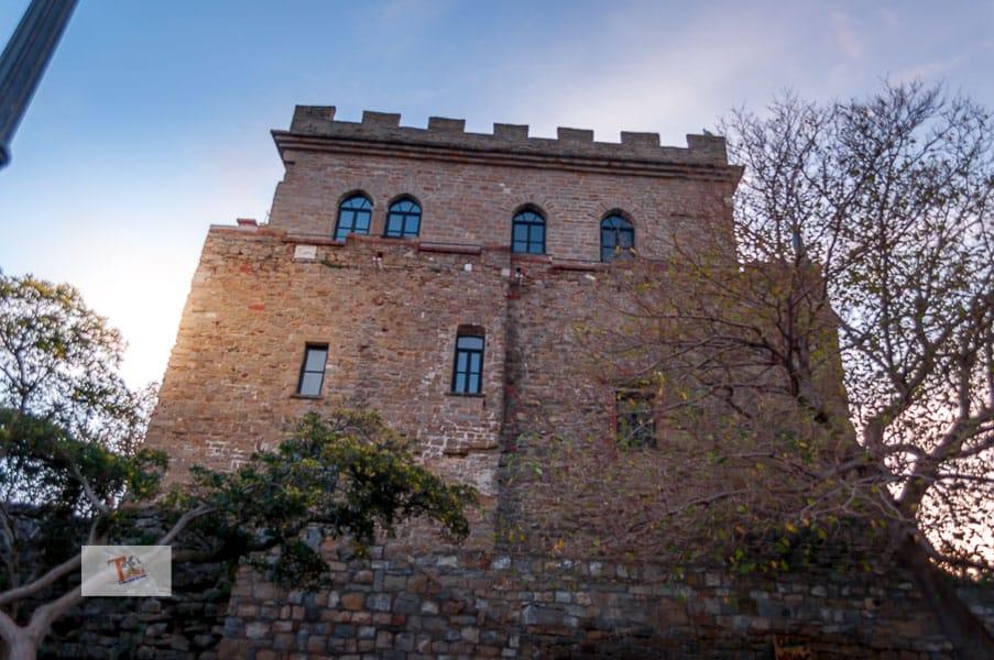 Muggia, the castle