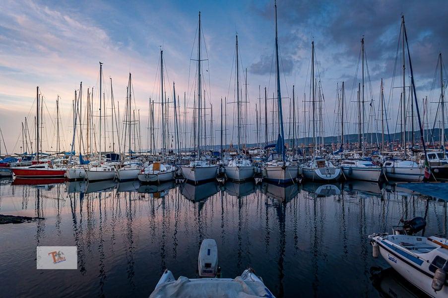Muggia, the port