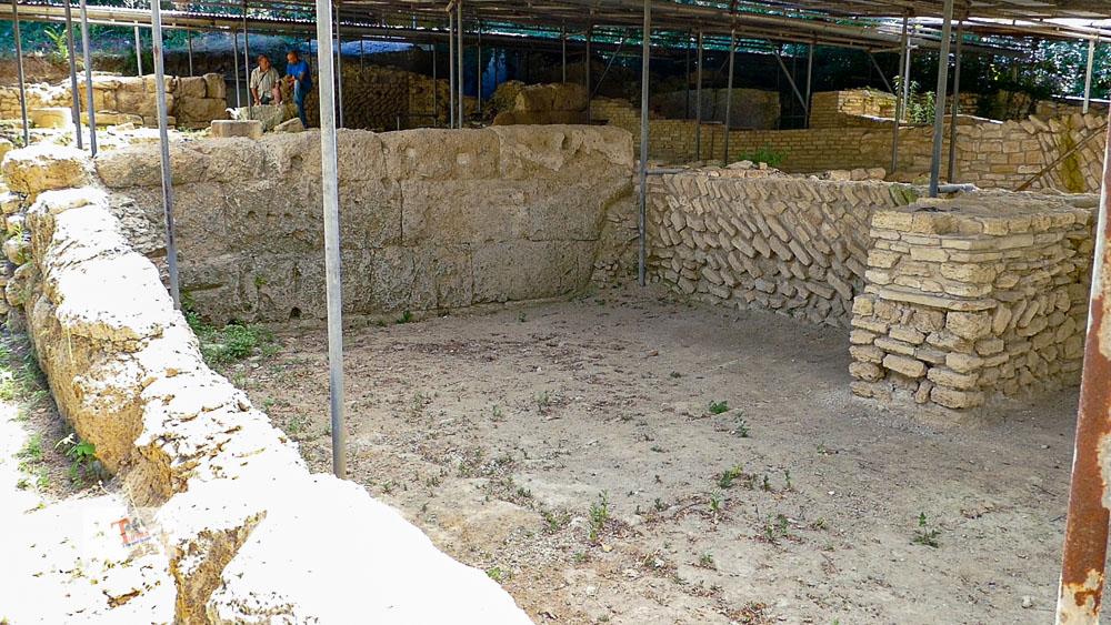 Orte, Roman river port of Seripola, archaeological area